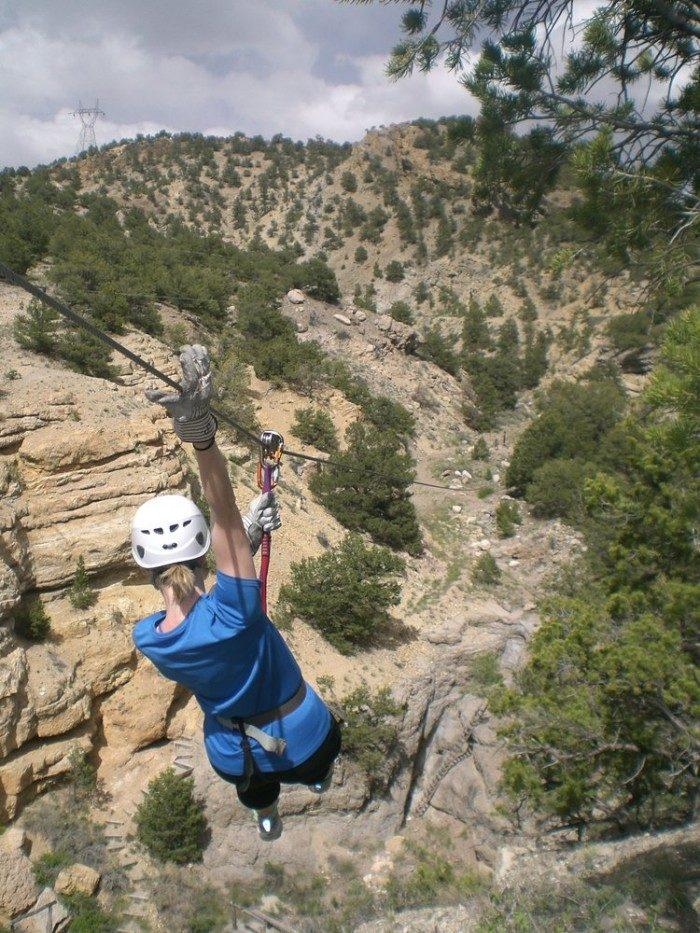 Colorado: Lost Canyon Ziplining