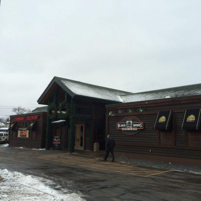 7. Black Woods Grill & Bar