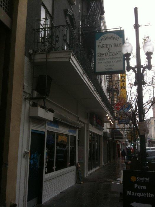 9) Hobnobber's Variety Bar & Restaurant, 139 Carondelet St.