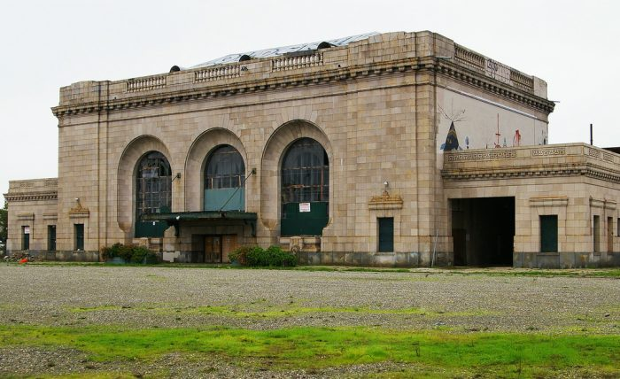 12. Loma Prieta Benched this Building