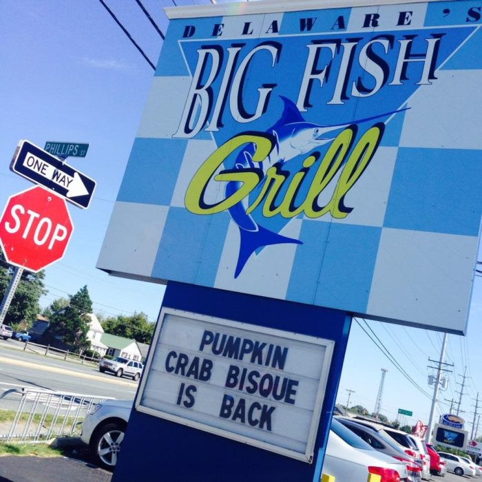 5. Big Fish Grill, Wilmington and Rehoboth Beach