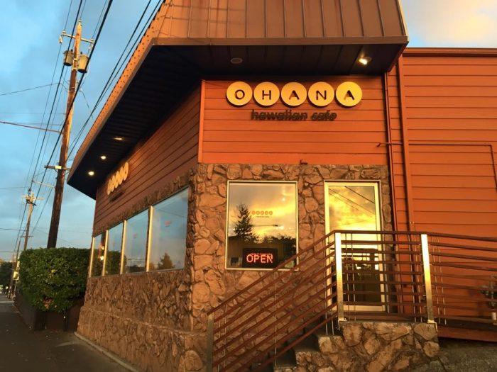 13. Ohana Hawaiian Cafe - Hawaiian