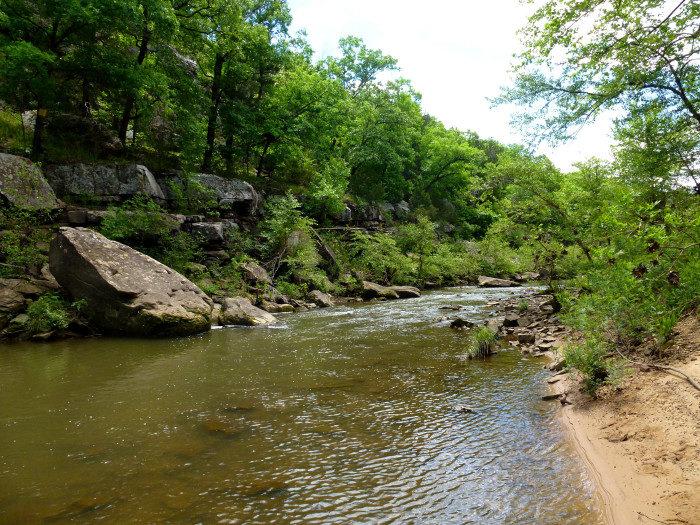 Oklahoma: Bugle Trail at Osage Hills State Park, Pawhuska