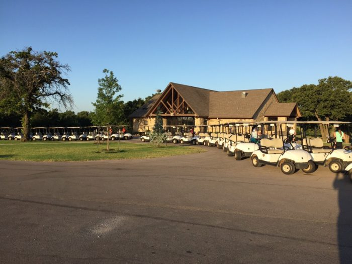 Golfers can head to Lake Murray Golf Course and enjoy the beautifully maintained greens.