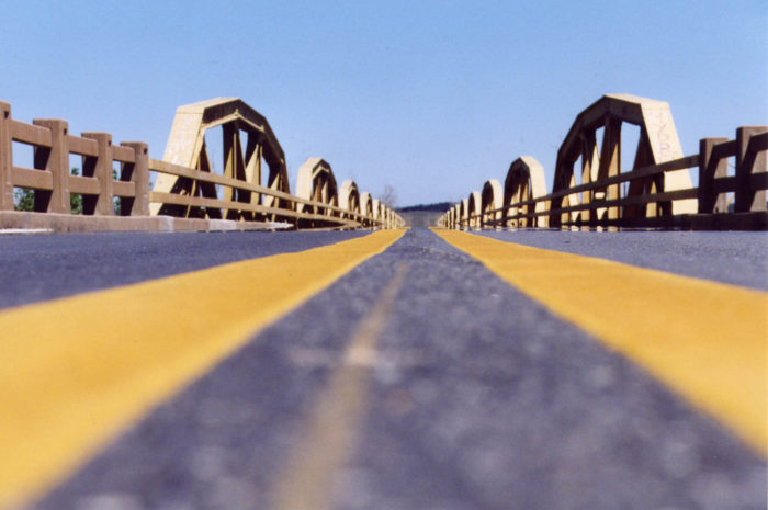 3. The historic Canadian River Bridge is the longest bridge (3,944.33 feet  ) on Route 66 near Geary, Oklahoma.