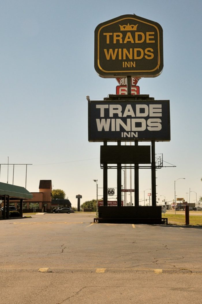 9. Elvis Presley was very fond of the Trade Winds Inn on Route 66 in Clinton and would stay the night whenever passing through.