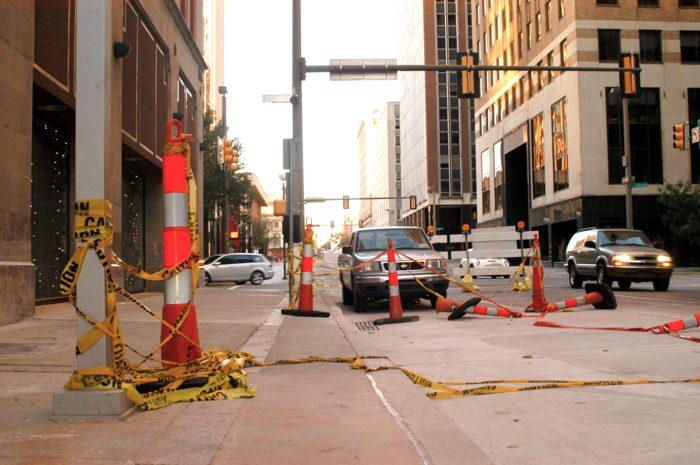 11. Road construction.