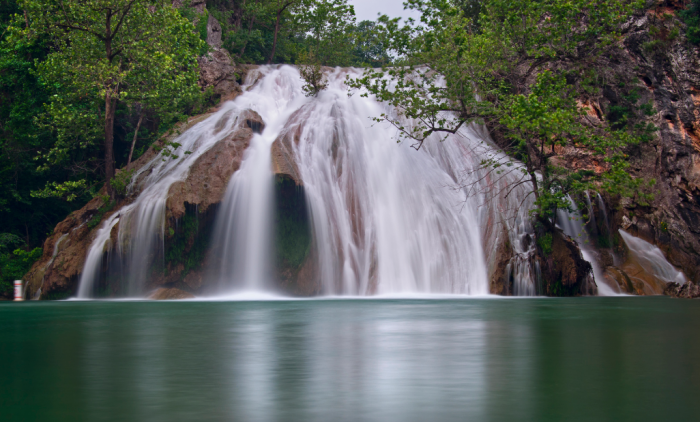 16. A perfect capture of the beauty at Turner Falls.