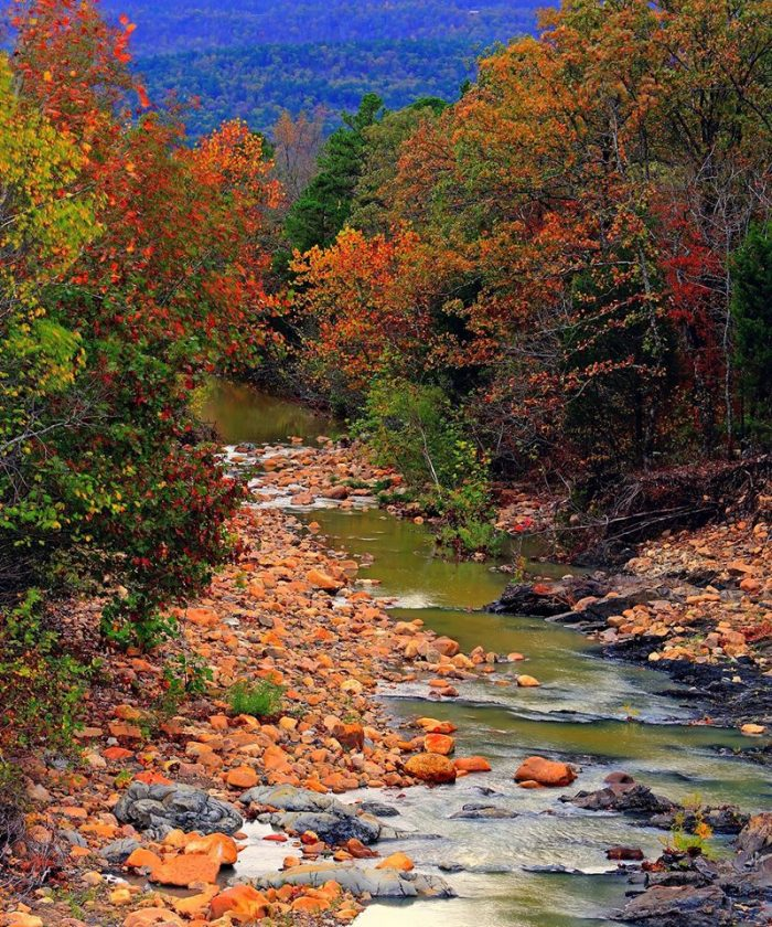 10. Southeastern Oklahoma's fall colors look absolutely amazing and are a must-see.