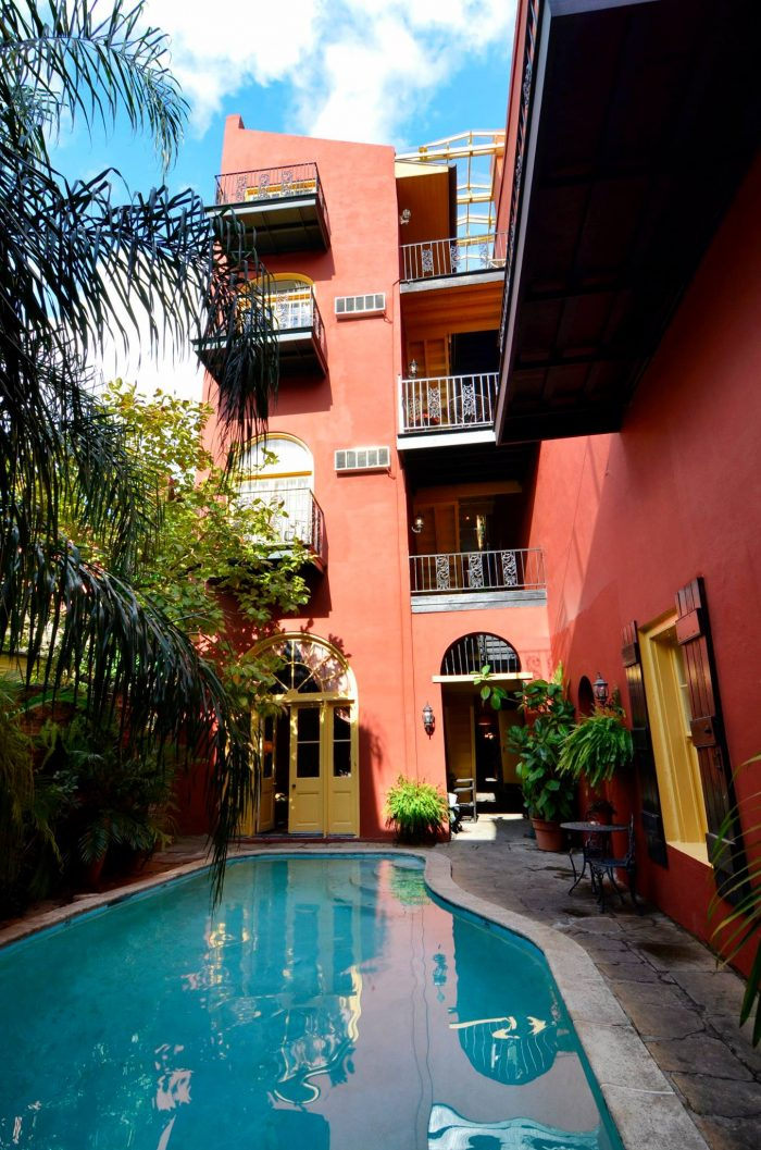 2) Olivier House Hotel, 828 Toulouse St.