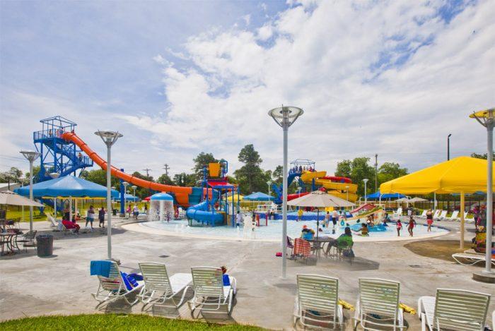 3. Orangeburg County Aquatic Park - Orangeburg, SC