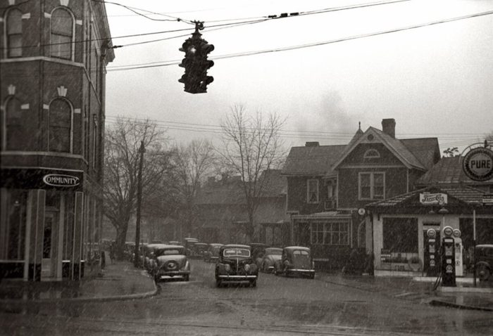 6. Downtown Parkersburg, 1940s
