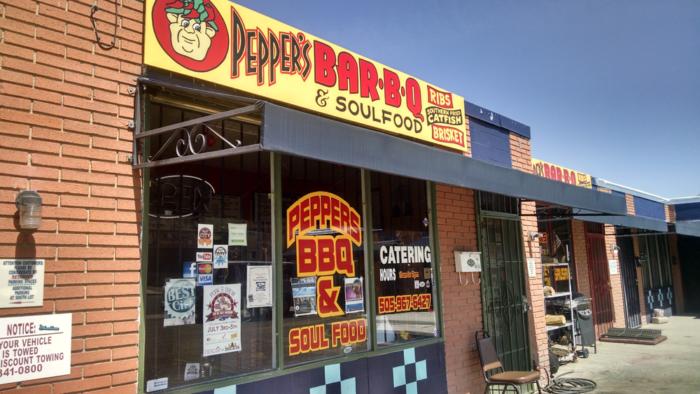 2. Peppers Ole Fashion BBQ, 303 San Pedro Drive NE, Albuquerque