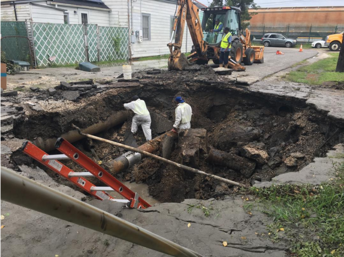 The saga began on April 28th, when a sinkhole opened up on Constantinople St. in Uptown New Orleans.