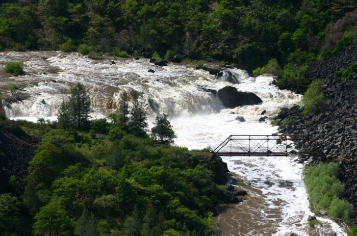 5. A tributary of Fall River is the Pit River. People have LOTS of white water rafting adventures here.