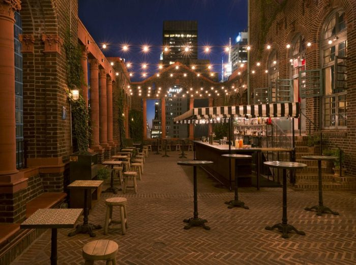 2. Break your regular routine and dine somewhere new, preferably somewhere with an outdoor patio.