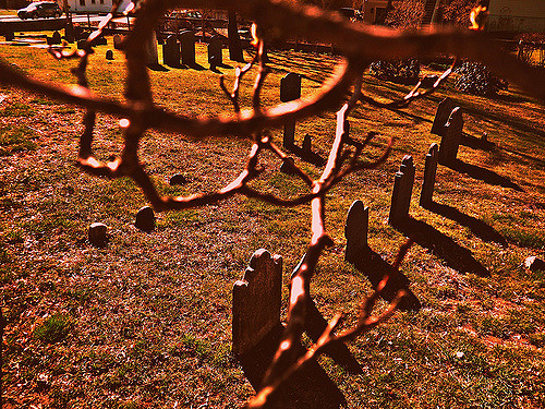 1. Point of Grave Burial Ground, Portsmouth