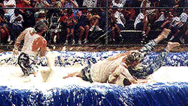 5. Mashed Potato Wrestling is an actual event that occurs annually in SD.