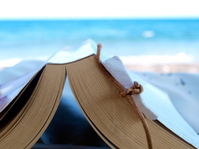 11. Read a book in the sunshine