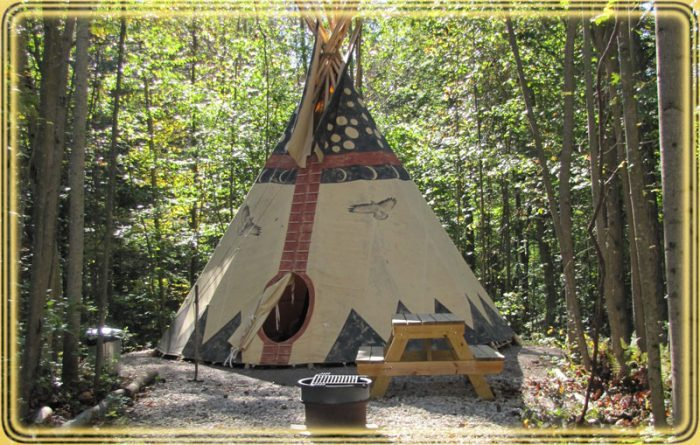 6. Secluded Sanctuaries Tipi Buteo (Logan)