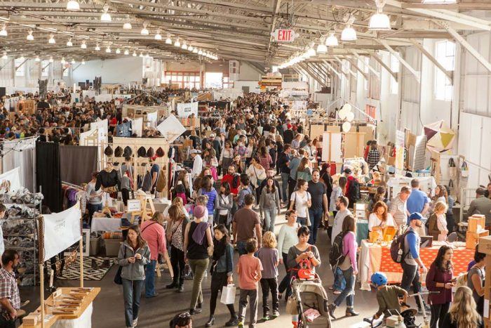 10. Discover some of the coolest DIY fashion and design at the Renegade Craft Fair.