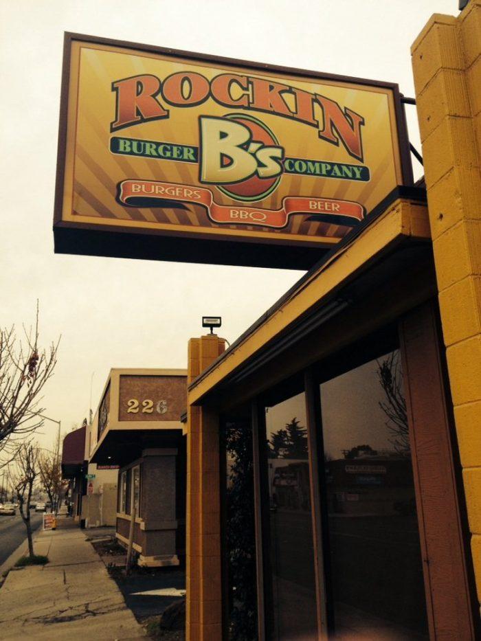 3. Rockin B's Burger Company, Modesto