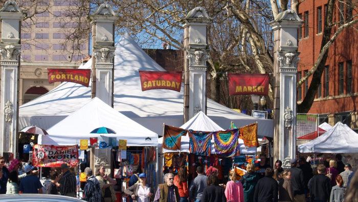 7. Portland Saturday Market
