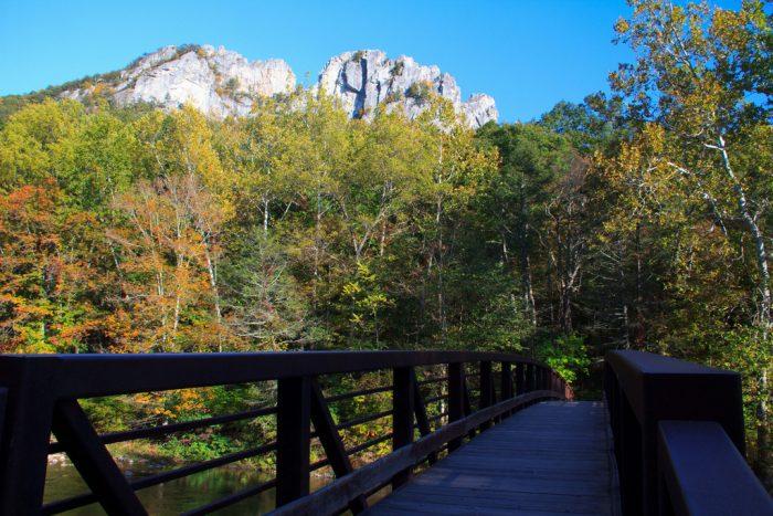 9. Seneca Rock Trail, Seneca