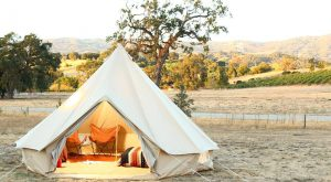 These 9 Amazing Luxury 'Glamping' Destinations In Northern California Will Blow You Away