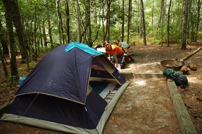 "8. SIMPLICITY - turn off the cell phones and get ""simple"" camping at Oconee State Park."