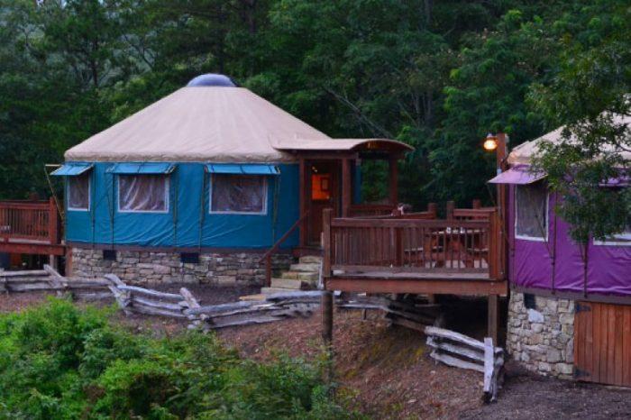 4. Sky Ridge Yurts, Bryson City
