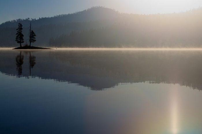 8. Snag Lake, Lassen County