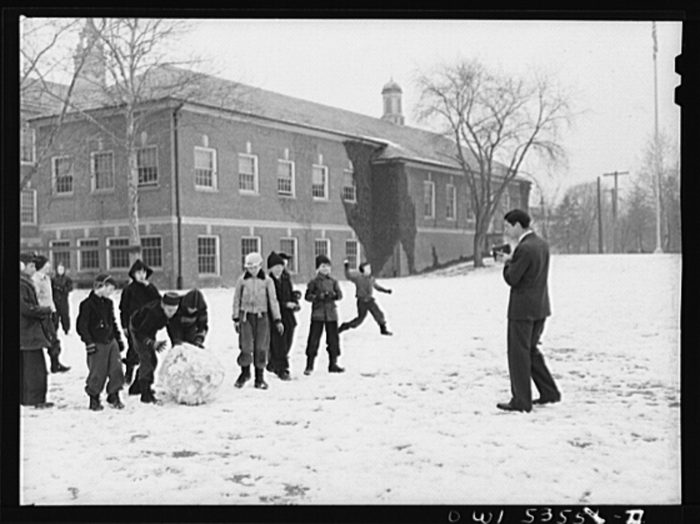 Delaware Snow Day 1942