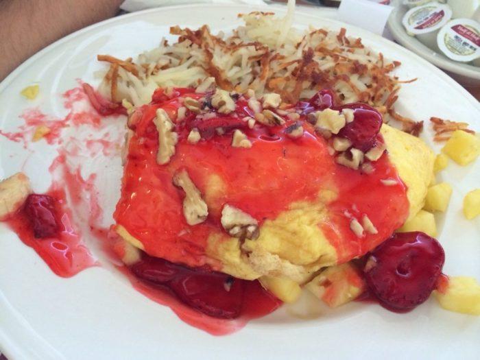 sophia omelet