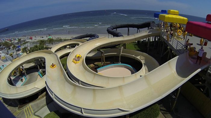 1. Splashes Oceanfront Waterpark at Family Kingdom Amusements - Myrtle Beach, SC