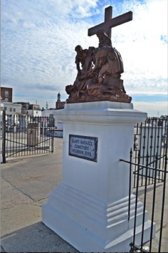 2) St. Patrick's Cemetery No. 1, 143 City Park Ave.