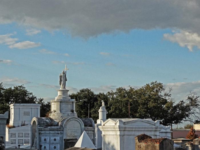4) St. Louis Cemetery No. 1, Basin @ St. Louis Street
