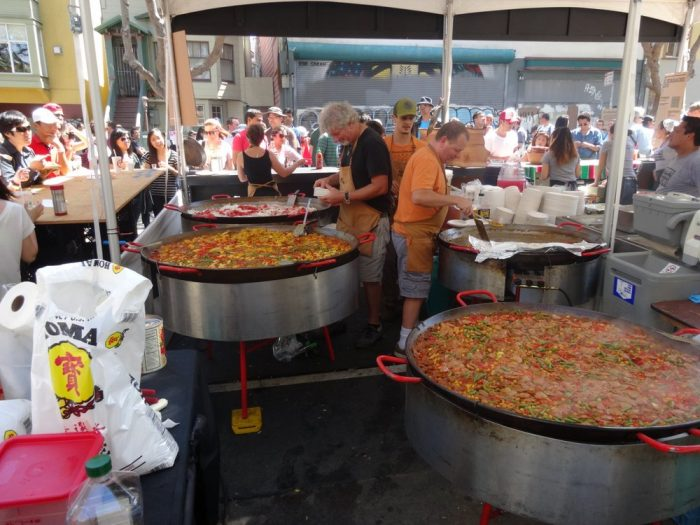 9. Stuff yourself at the San Francisco Street Food Festival.