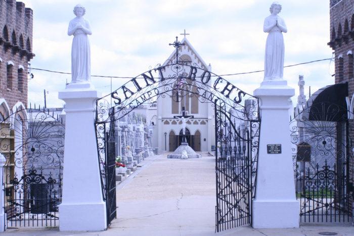 6) St. Roch Cemetery, 1725 St. Roch Street