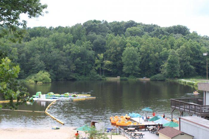 crater lake nj swimming meet
