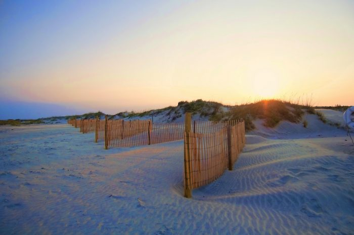 5.Speaking of the beach...this sunet over the dunes on Seabrook Island is mesmerizing.