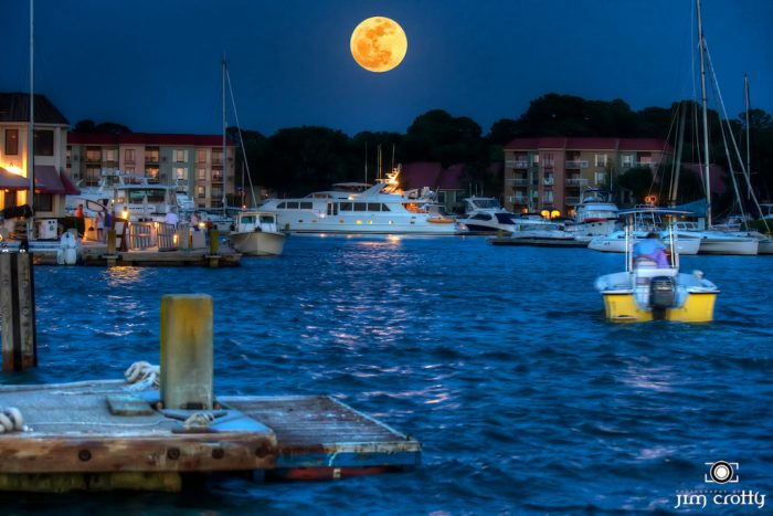 19. After seeing this supermoon over Harbor Town you may find yourself searching for words...or gasping for air. Either way, you may never visit Harbor Town again without seeing this image on the back of your eyelids.