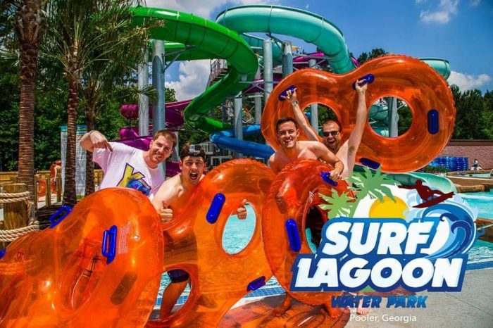 2. Surf Lagoon Water Park—130 Towne Center Dr, Pooler, GA 31322