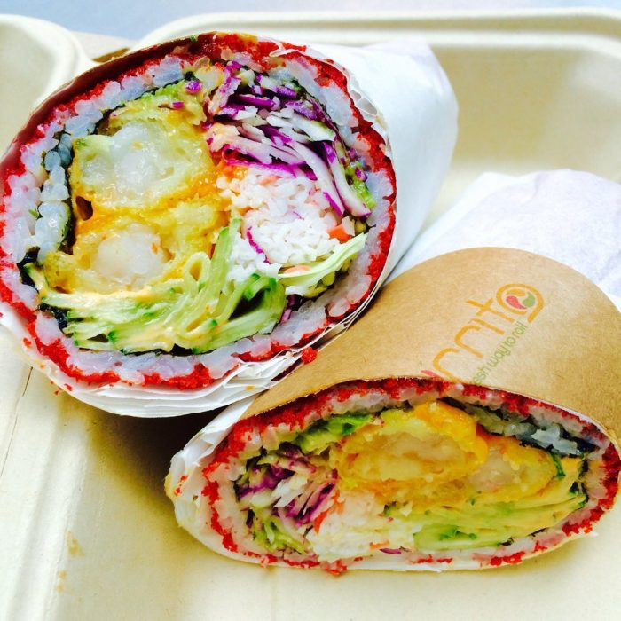 10. Anything wrapped like a burrito