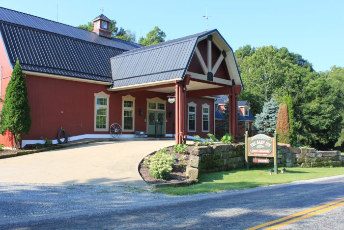 2. The Barn Inn Bed and Breakfast (Millersburg)