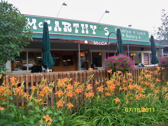 14.  McCarthy's Restaurant - 454 Mountain Road, Rte 108, Stowe