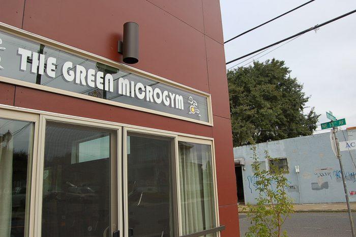7. The Green Microgym