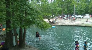 The Beauty Of This Natural Spring In Texas Will Blow You Away