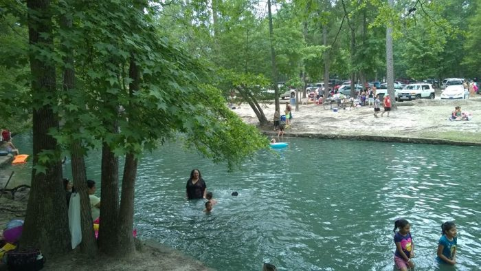 Tonkawa Springs Is One Of The Greatest Natural Springs In
