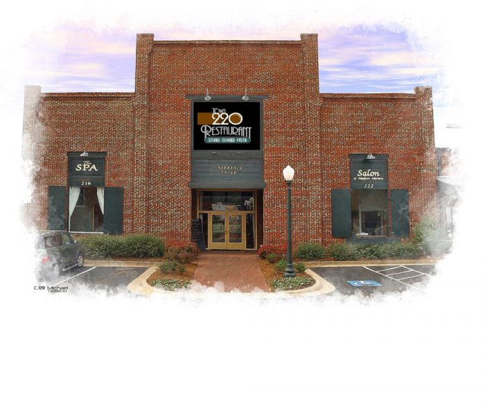 5. Town 220 Restaurant—220 West Washington St, Madison, GA 30650